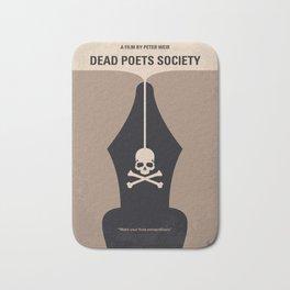 No486 My Dead Poets Society minimal movie poster Bath Mat