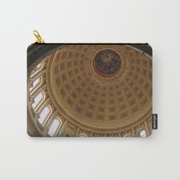 The rotunda of the Capitol building in Madison, Wisconsin Carry-All Pouch