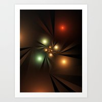 the lights Art Prints featuring Lights by Klara Acel