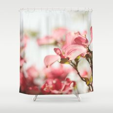 Dogwood Daydreams Shower Curtain