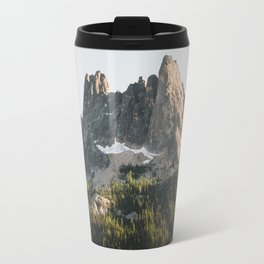 North Cascades Sunset Travel Mug