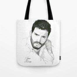 Jamie Dornan Tote Bag