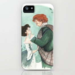 Outlander Wedding iPhone Case