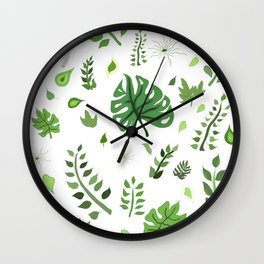 Foliage and greeneries - LBC Wall Clock