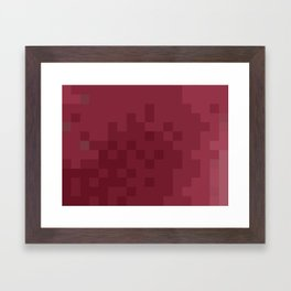 ABSTRACT PIXELS #0003 Framed Art Print