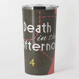 Death in the Afternoon, Erenst Hemingway, book cover, classic novel, bullfighting stories, Spain Travel Mug
