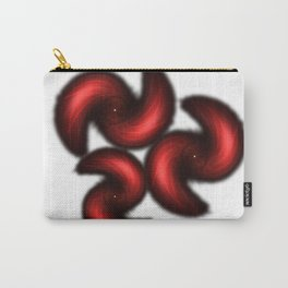 Abstract Red pedals Carry-All Pouch