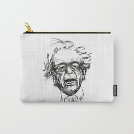 Feel the Bern (black & white) Carry-All Pouch