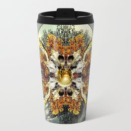Ocean Jewels - Puffer Fish And Moray Eels Travel Mug