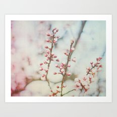 Small & Soft Art Print
