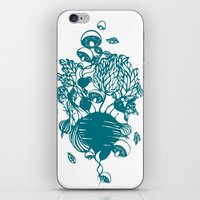 vegetables iPhone & iPod Skins featuring Vegetables  by Sarah Dennis