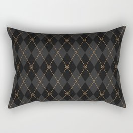 Modern Gentleman's Armour Rectangular Pillow