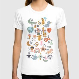 beautiful abc for kids T-shirt