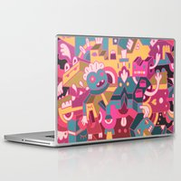 cartoons Laptop & iPad Skins featuring Dear Clarence by Mister Phil