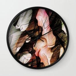 Self-Satisfied Wall Clock