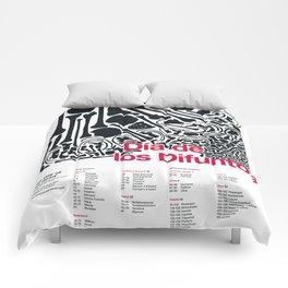 Día de los Difuntos (Day of the Dead) Comforters