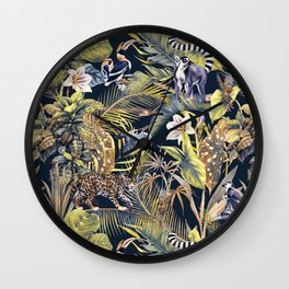 Wild Jungle - 01 Wall Clock