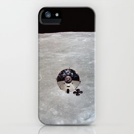 Apollo 10 - Far Side Of The Moon iPhone Case