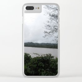 Ecuador River Clear iPhone Case