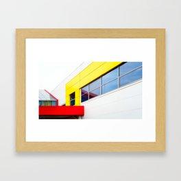Bright Building Blocks Framed Art Print