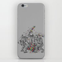 police iPhone & iPod Skins featuring Police Brutality by Peter Kramar