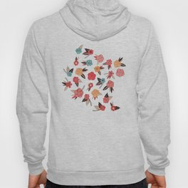 Pop Flower Belt Hoody