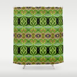 Emerald Jewel Shower Curtain