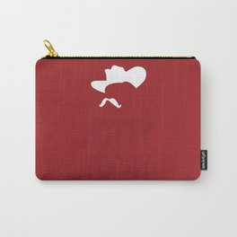 Colonel Silhouette (red) Carry-All Pouch