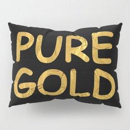 Pure Gold Pillow Sham