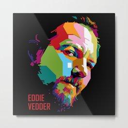 Eddie in WPAP Metal Print