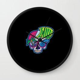Chilling Skull Wall Clock