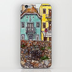 Buarcos Buildings, Portugal iPhone & iPod Skin