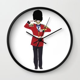 British Spirit Animal Wall Clock