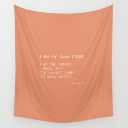 I am my own muse Wall Tapestry