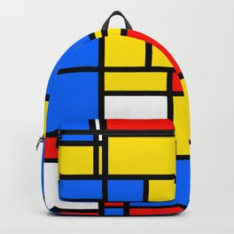 Mondrian Style Backpack