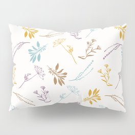 Sacred Dried Herb Bunches Pillow Sham