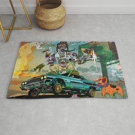 B-Side Low Ride Rug