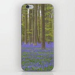 Bluebell Forest 1 iPhone Skin