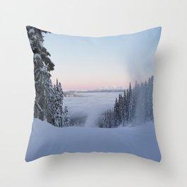 Creating clouds?  Throw Pillow
