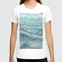 Mystic Stone Aqua Teal T-shirt