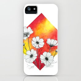 Cosmos in Fire  iPhone Case