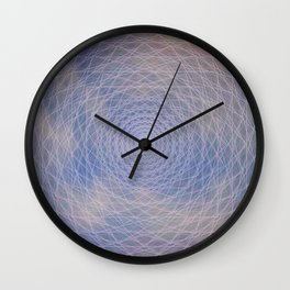 Lucy's Abstract Digital Sky Wall Clock
