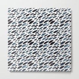 Indigo shoal Metal Print