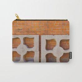 Architecture orange brick  Carry-All Pouch
