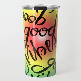 Good Vibes - Rainbow Pride Travel Mug