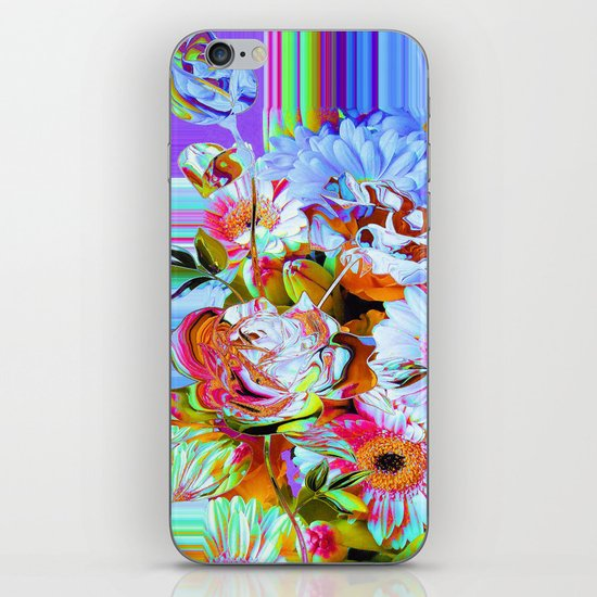 Wild Floral Abstract iPhone & iPod Skin