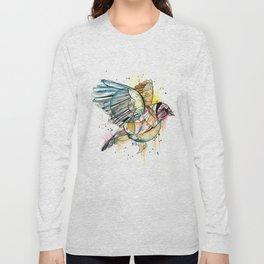European Goldfinch  Long Sleeve T-shirt