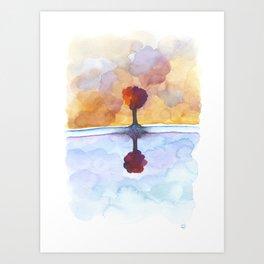 As Above So Below  No15 Art Print