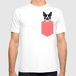Kennedy - Boston Terrier cute dog themed gifts for small dog owners and Boston Terrier gifts  T-shirt