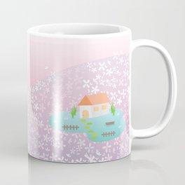 flower hill Coffee Mug